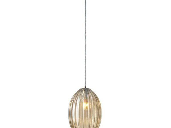 Подвесной светильник Newport 6144/S nickel/cognac М0062469