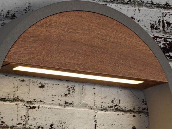 Уличный настенный светодиодный светильник Mantra Cycle 6850