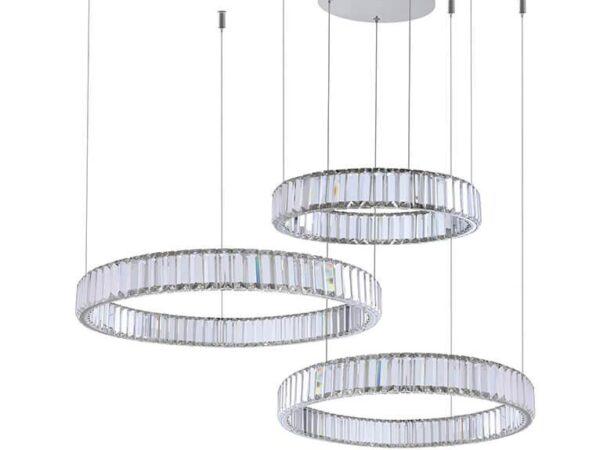 Подвесной светодиодный светильник Newport 15853/S chrome М0061002