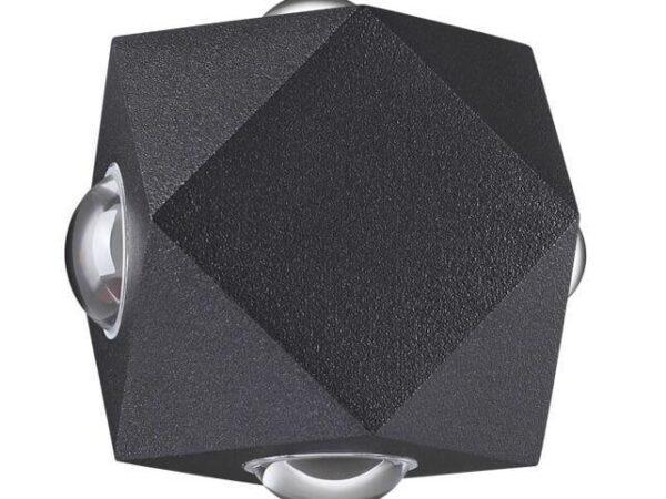 Уличный настенный светодиодный светильник Odeon Light Diamanta 4218/8WL