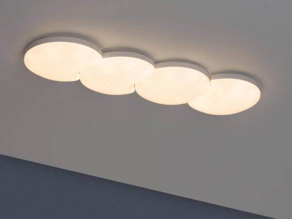 Потолочный светодиодный светильник Paulmann Optical 93590
