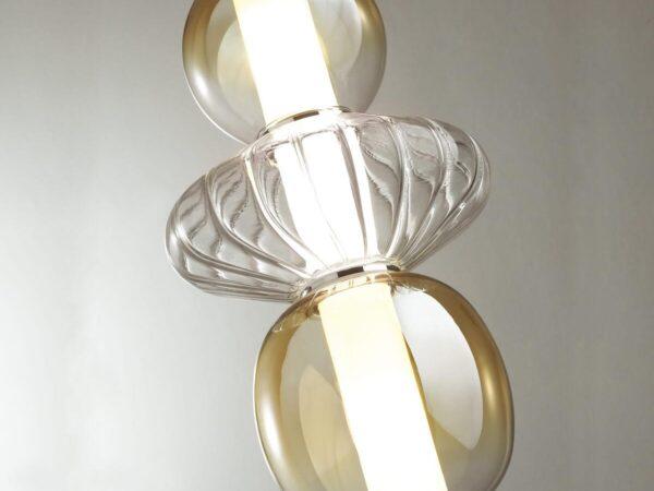 Подвесной светодиодный светильник Odeon Light Monra 4866/8L