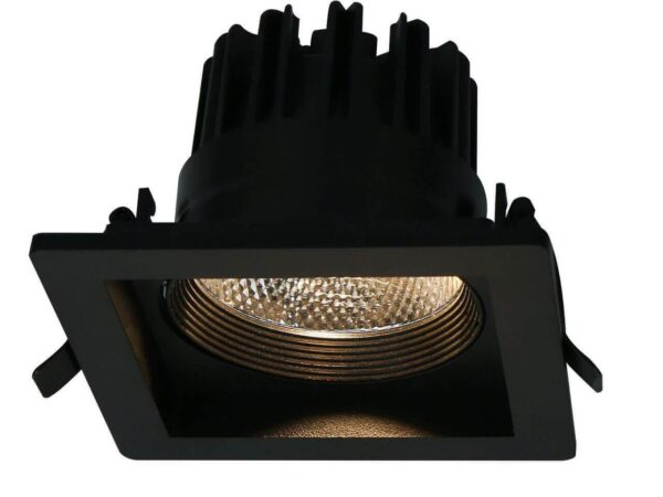 Встраиваемый светодиодный светильник Arte Lamp Privato A7018PL-1BK