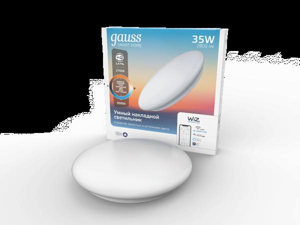 Накладной светодиодный светильник Gauss Smart Home 2060112