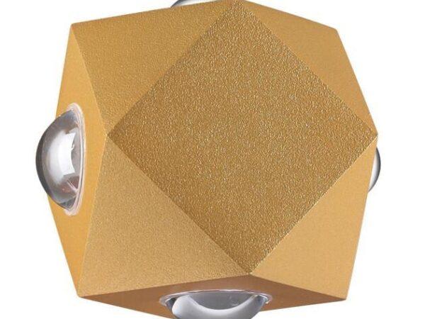 Уличный настенный светодиодный светильник Odeon Light Diamanta 4220/8WL