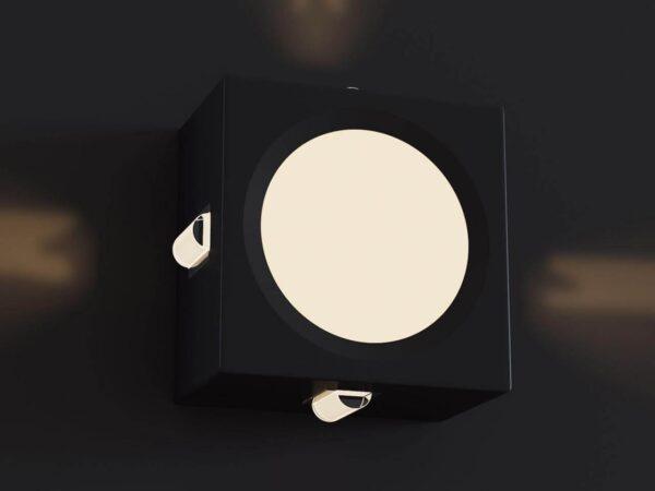 Уличный настенный светодиодный светильник Maytoni Carolwood Drive O012WL-L10B
