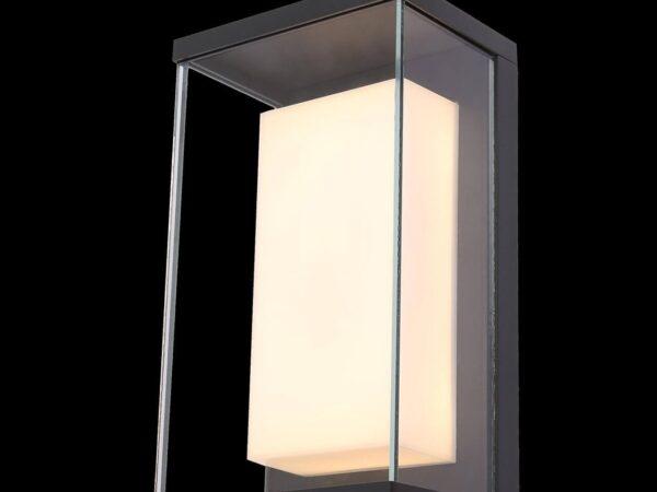 Уличный настенный светодиодный светильник Maytoni Baker Street O021WL-L10B4K