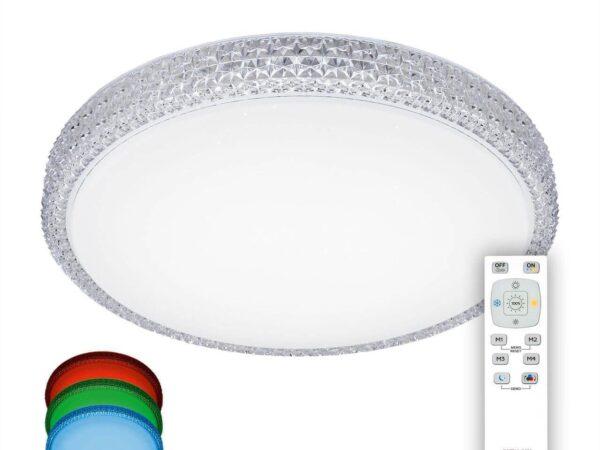 Потолочный светодиодный светильник Citilux Альпина CL71840RGB