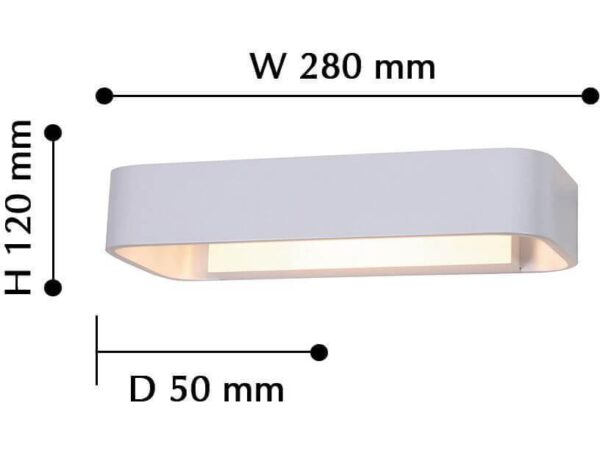 Настенный светодиодный светильник Favourite Praesens 2408-1W