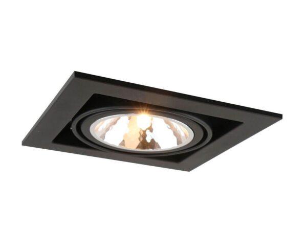 Встраиваемый светильник Arte Lamp Cardani Semplice A5949PL-1BK