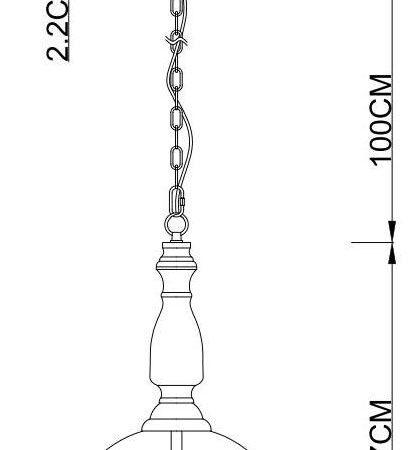 Подвесная люстра Arte Lamp Bell A7771SP-3CC