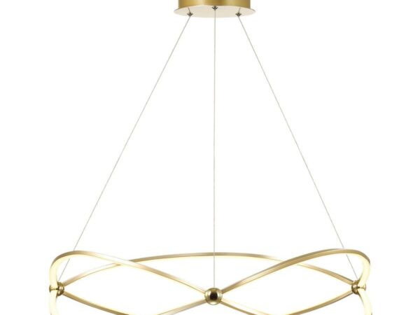 Подвесная светодиодная люстра Odeon Light Lesla 4730/54L