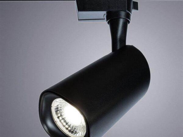 Трековый светодиодный светильник Arte Lamp Barut A4563PL-1BK