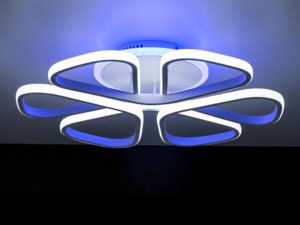 Потолочная светодиодная люстра Citilux Сезар CL233250RGB