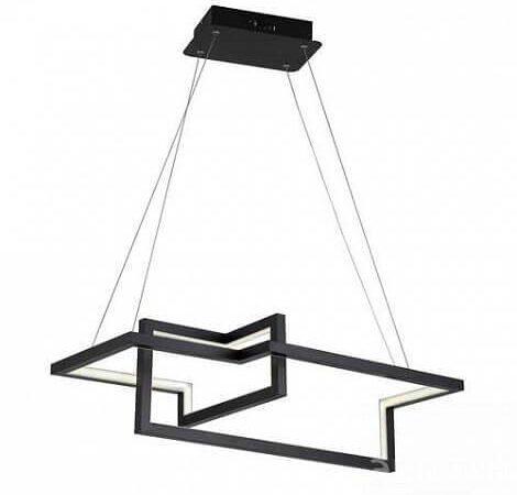 Подвесной светодиодный светильник Arte Lamp Mercure A6011SP-2BK
