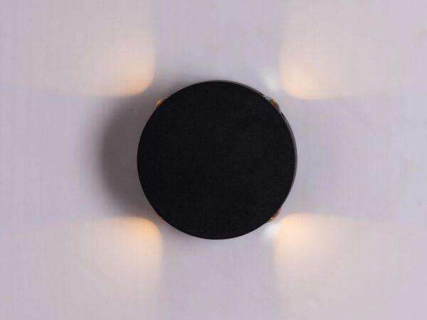 Уличный настенный светильник Arte Lamp Tamburello A1525AP-1BK