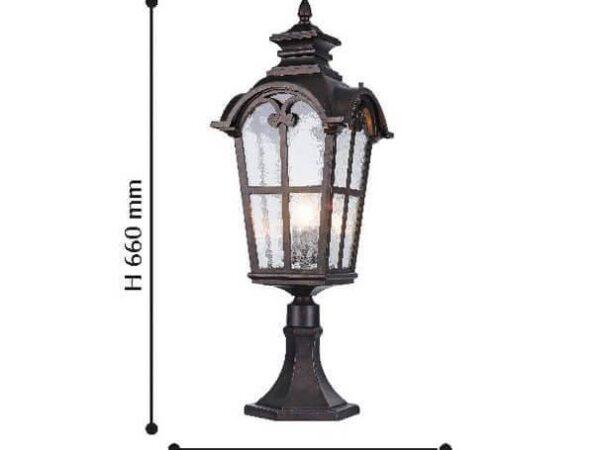 Уличный светильник Favourite Bristol 2036-1T