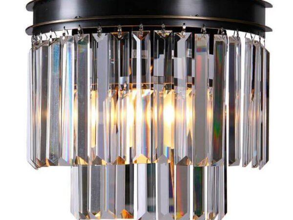 Настенный светильник Newport 31101/A Smoke М0055001