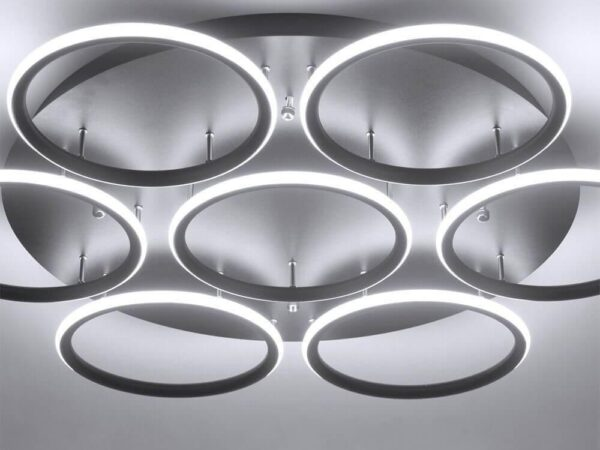 Потолочная светодиодная люстра Arte Lamp A2500PL-7BK