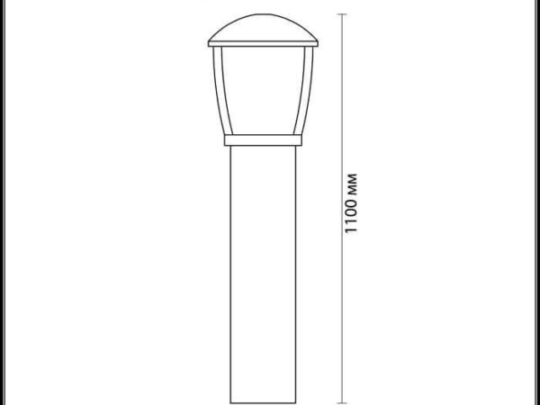 Уличный светильник Odeon Light Tako 4051/1F