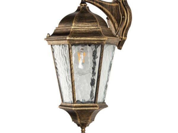 Уличный настенный светильник Arte Lamp Genova A1204AL-1BN