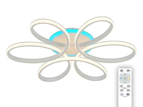 Потолочная светодиодная люстра Citilux Сезар CL233170RGB