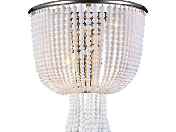 Настенный светильник Newport 3132/A Nickel/White М0058405