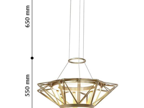 Подвесной светодиодный светильник Favourite Solar 2508-5P