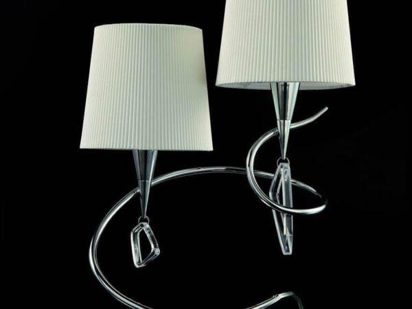 Настольная лампа Mantra Mara Chrome — White 1651