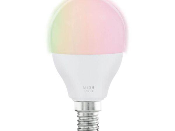 Лампа светодиодная диммируемая Eglo E14 5W 2700-6500K матовая 11857