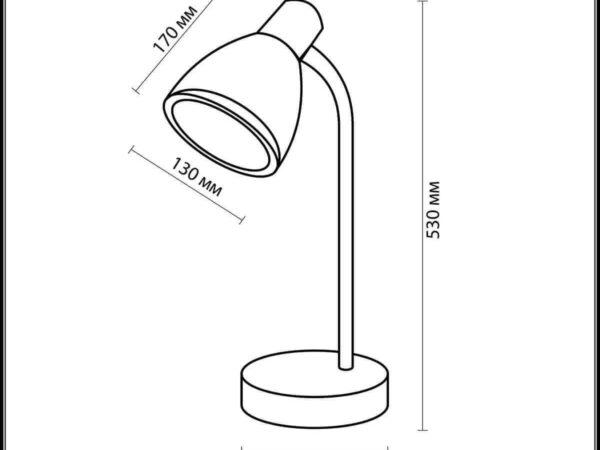 Настольная лампа Odeon Light Mansy 2411/1T