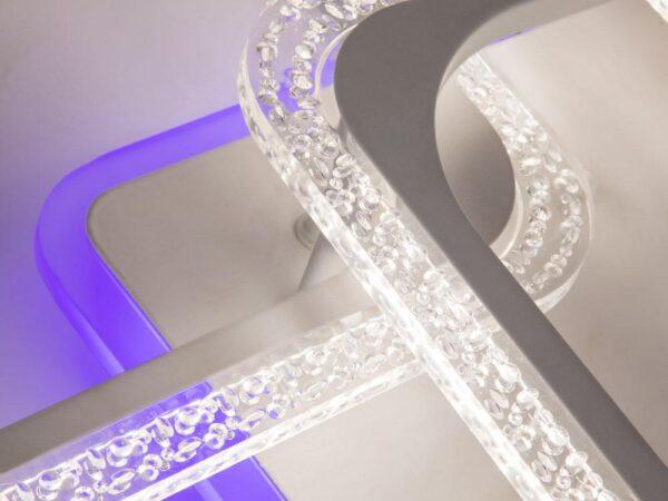 Потолочная светодиодная люстра Arte Lamp Splash A2534PL-90WH