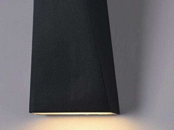 Уличный настенный светодиодный светильник Maytoni Times Square O580WL-L6B