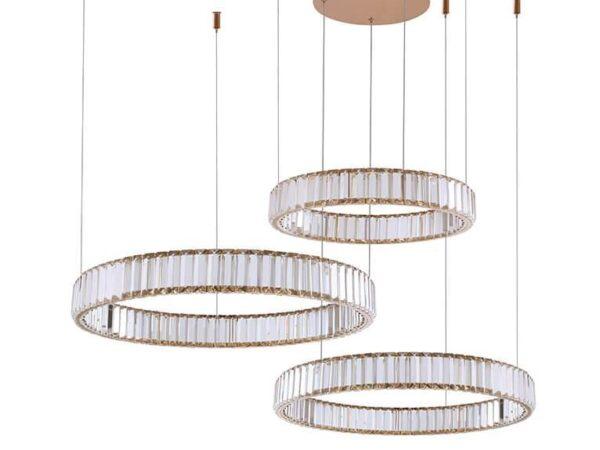 Подвесной светодиодный светильник Newport 15853/S gold М0061003