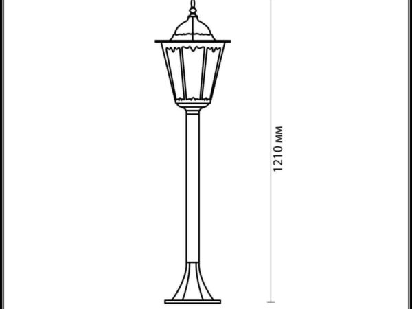 Уличный светильник Odeon Light Lano 2322/1F