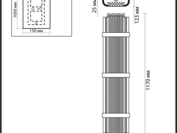 Настенный светильник Odeon Light Empire 4853/6W