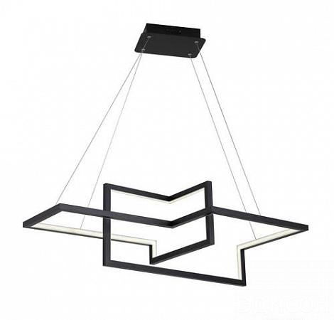 Подвесной светодиодный светильник Arte Lamp Mercure A6011SP-3BK