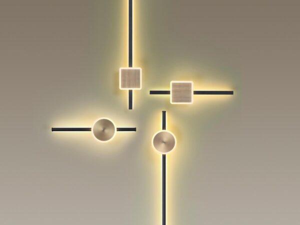 Настенный светодиодный светильник Odeon Light Stilo 4257/18WL