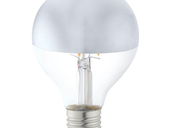 Лампа светодиодная Eglo E27 6W 2700К матовая 11613