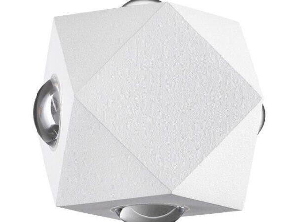 Уличный настенный светодиодный светильник Odeon Light Diamanta 4219/8WL