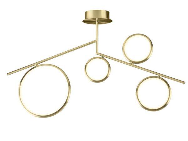 Подвесная светодиодная люстра Mantra Olimpia Oro 6580