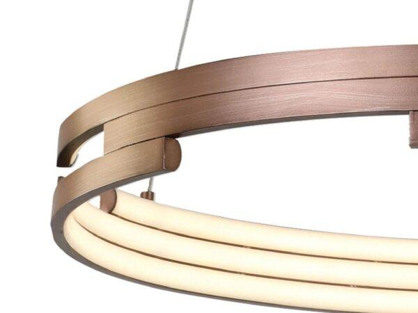 Подвесной светодиодный светильник Favourite Torqueo 2222-6P