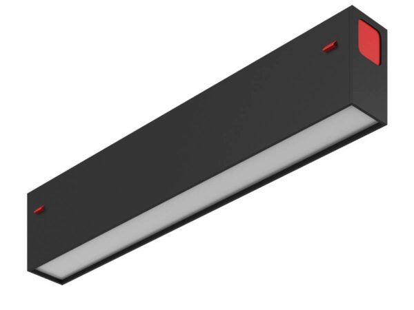 Трековый светодиодный светильник Denkirs DK8003-BK