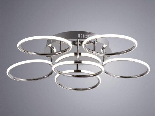 Потолочная светодиодная люстра Arte Lamp Presto A2516PL-6CC