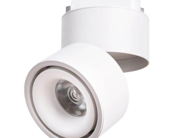 Трековый светодиодный светильник Arte Lamp Arcturus A7716PL-1WH