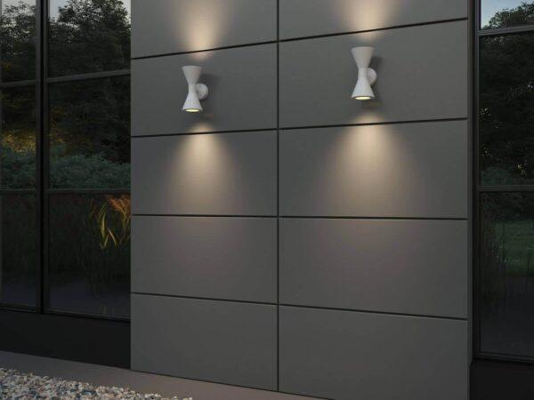 Уличный настенный светильник Odeon Light Axen 4611/10WL