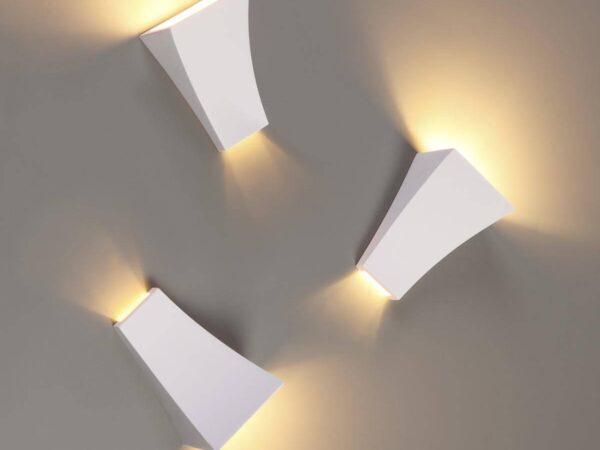 Настенный светильник Odeon Light Gips 3882/1W
