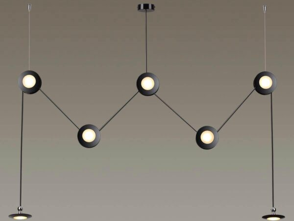 Подвесной светодиодный светильник Odeon Light Uliss 3811/84L