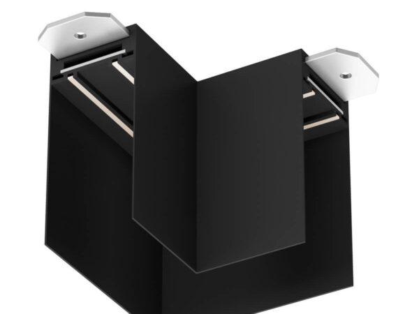 Угловой соединитель для шинопровода Denkirs TR2102-BK