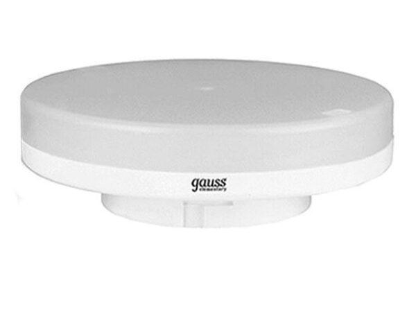 Лампа светодиодная Gauss GX53 14,5W 3000K матовая 10849152